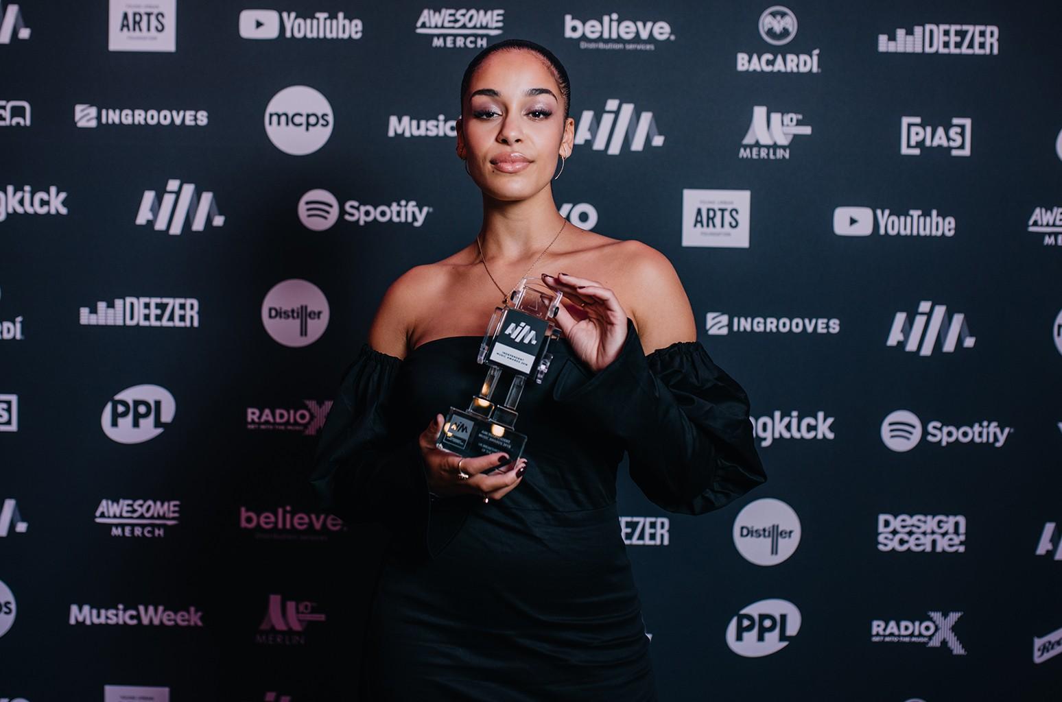 Jorja Smith AIM awards