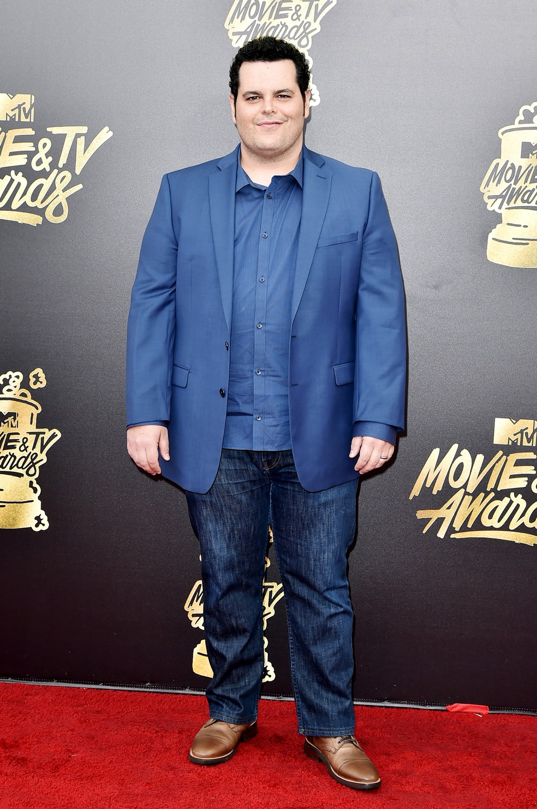 Josh Gad attends the 2017 MTV Movie and TV Awards at The Shrine Auditorium on May 7, 2017 in Los Angeles.