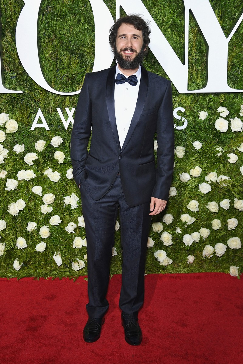 Josh Groban attends the 2017 Tony Awards at Radio City Music Hall on June 11, 2017 in New York City.