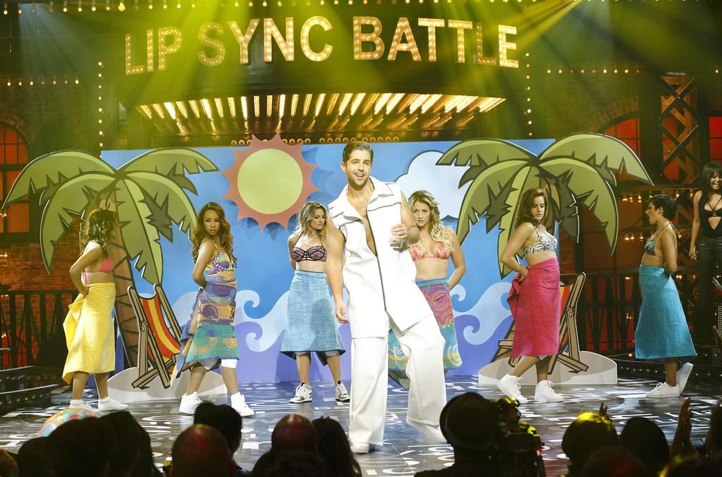 Josh Peck on Lip Sync Battle