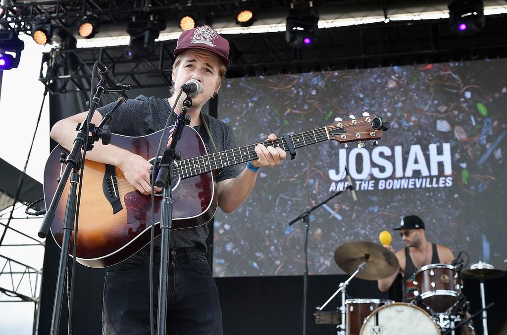 Josiah & The Bonnevilles performs at the 2016 Billboard Hot 100 Festival