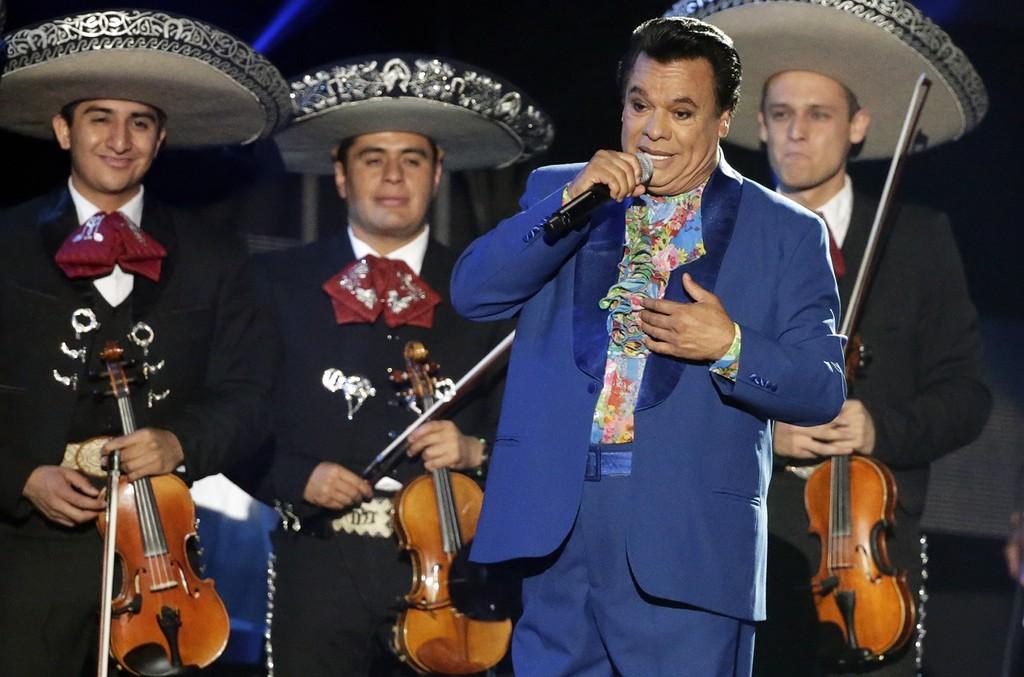 Juan Gabriel performs during the Billboard Latin Awards