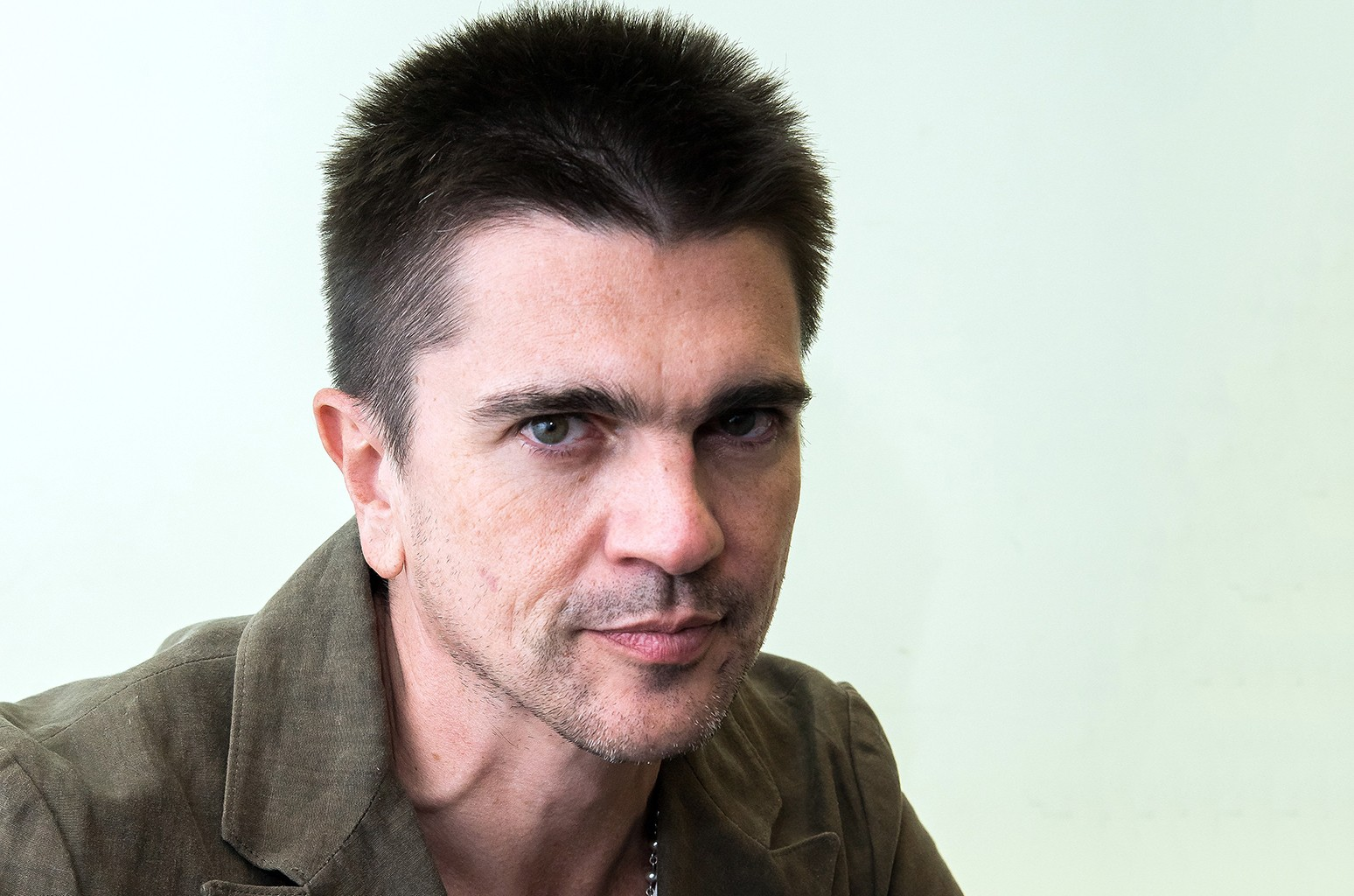 Juanes photographed on March 7, 2017 in New York City.