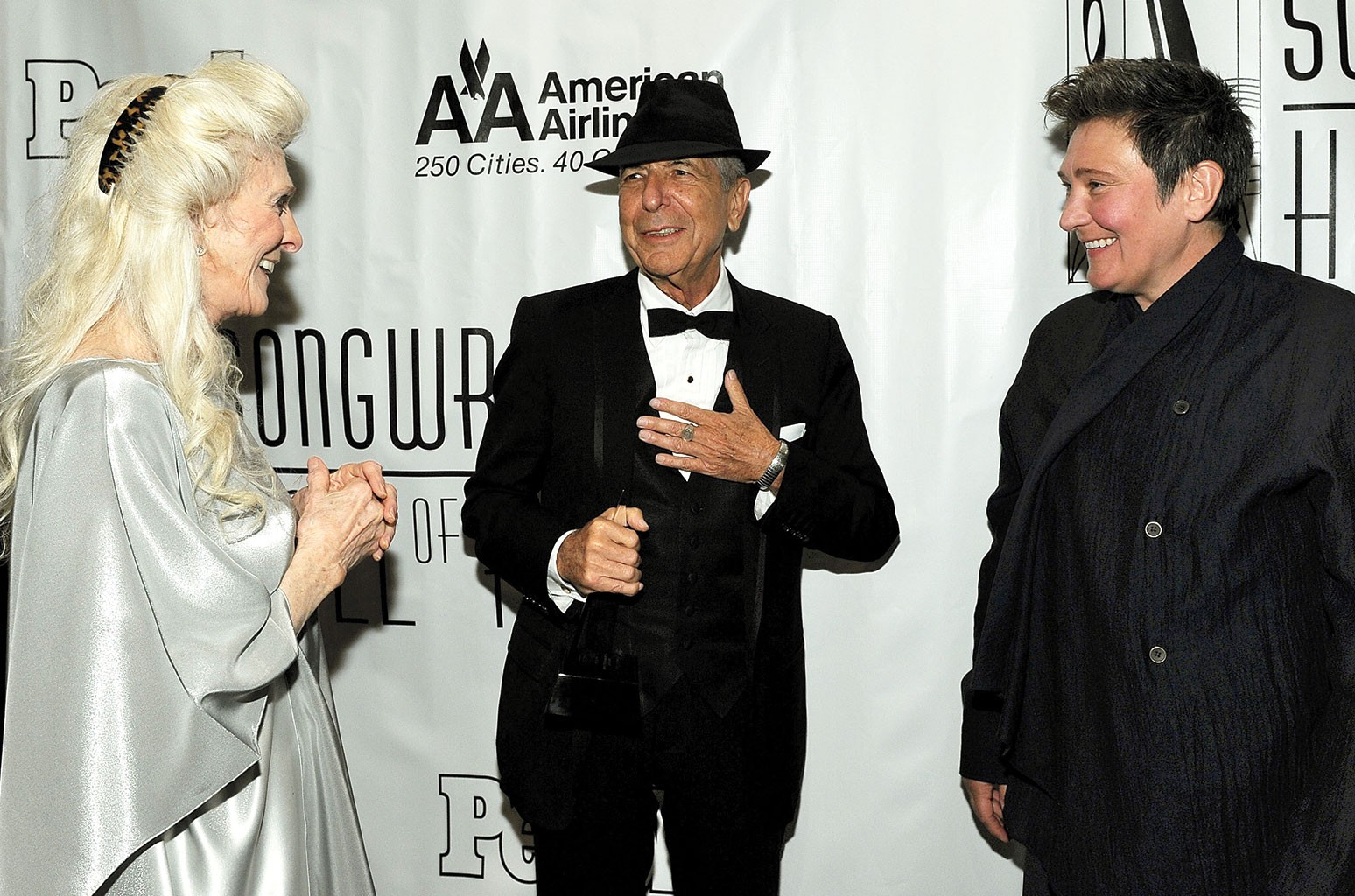 Judy Collins, Leonard Cohen and kd lang