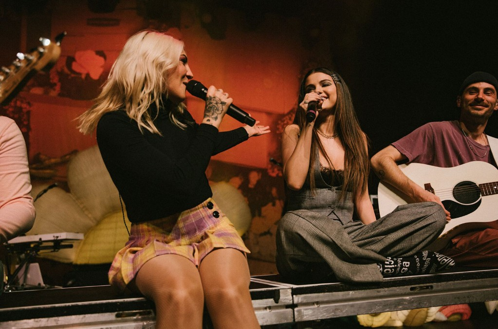 "Julia Michaels, Selena Gomez, ""Anxiety"", Inner Monologue Tour"