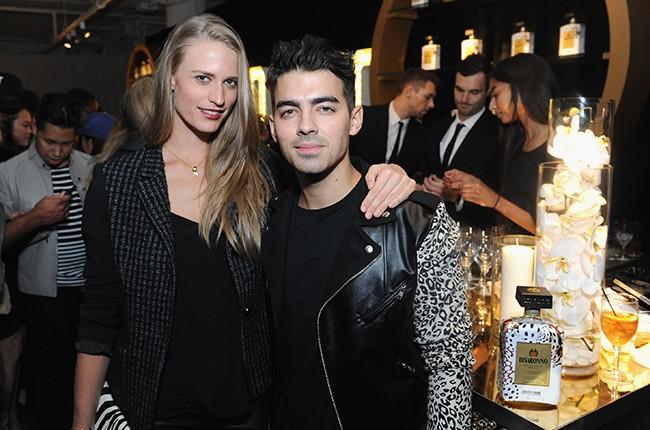Julie Henderson and Joe Jonas