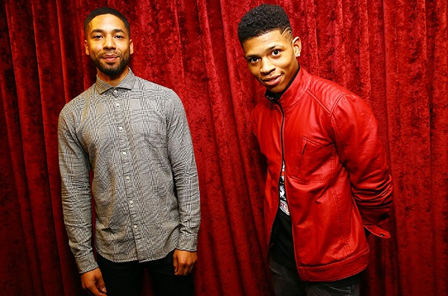 Jussie Smollett and Bryshere Gray from Empire