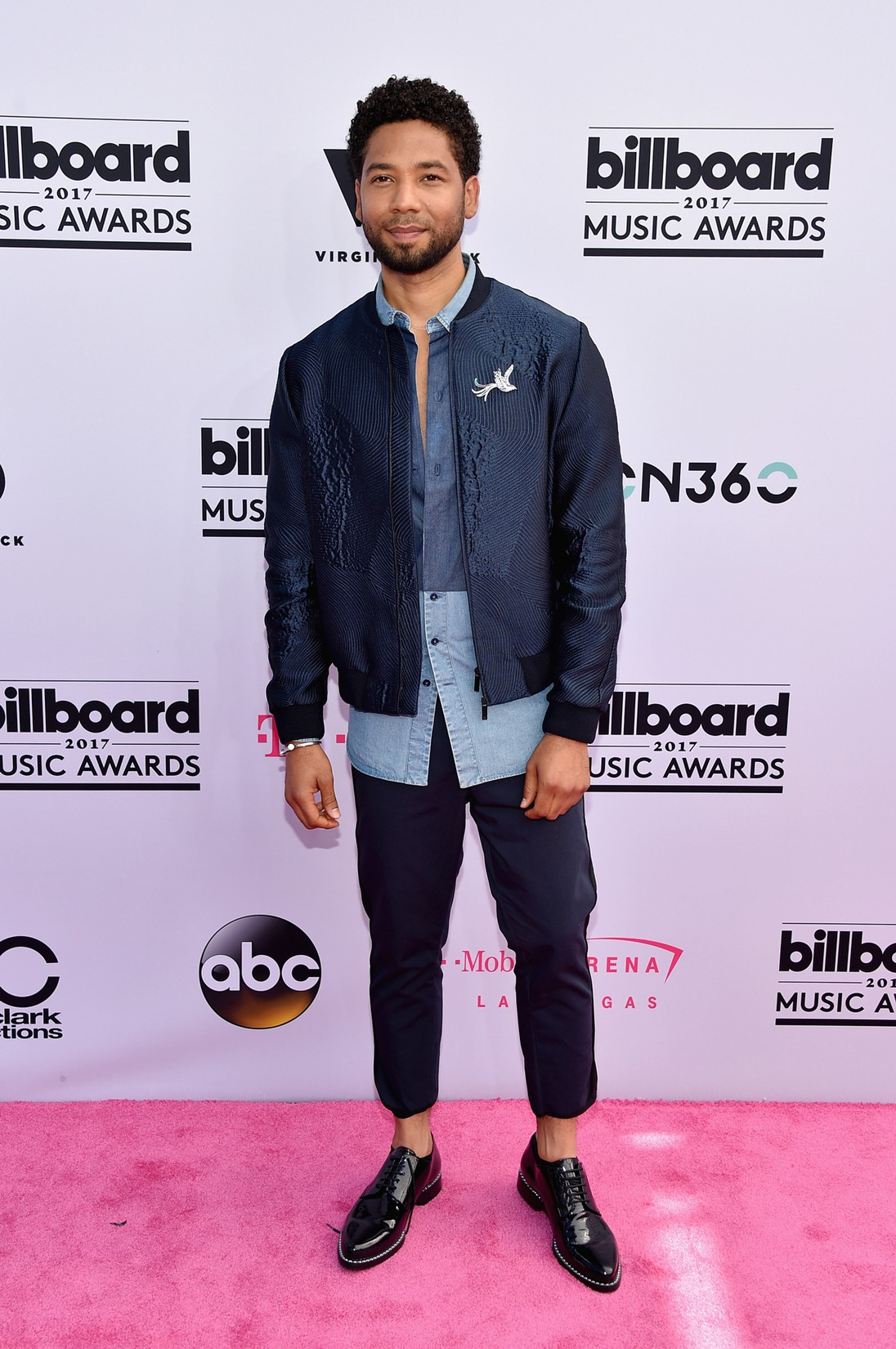 Jussie Smollett attends the 2017 Billboard Music Awards at T-Mobile Arena on May 21, 2017 in Las Vegas.