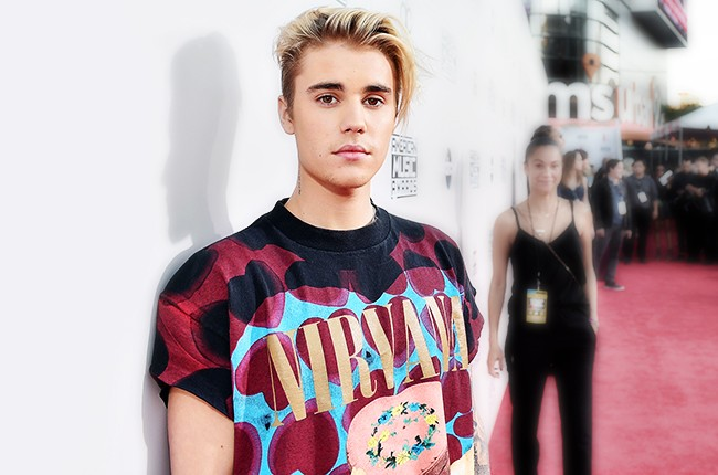 Justin Bieber attends the 2015 American Music Awards at Microsoft Theater on November 22, 2015 in Los Angeles, Calif.