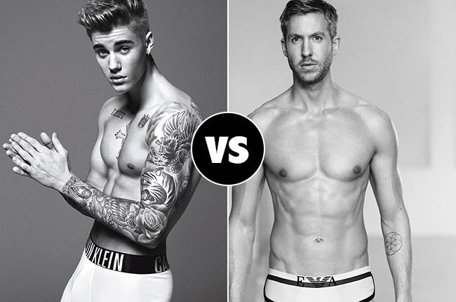 Justin Bieber VS. Calvin Harris