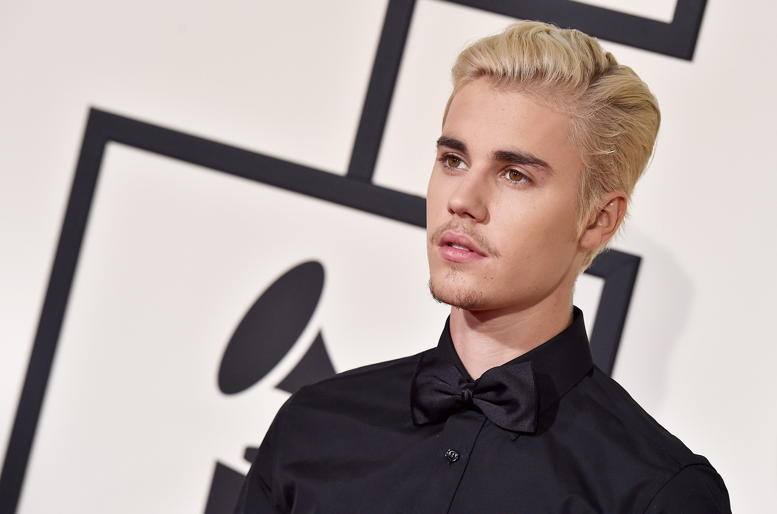 Justin Bieber arrives at The 58th Grammy Awards at Staples Center on Feb. 15, 2016 in Los Angeles.