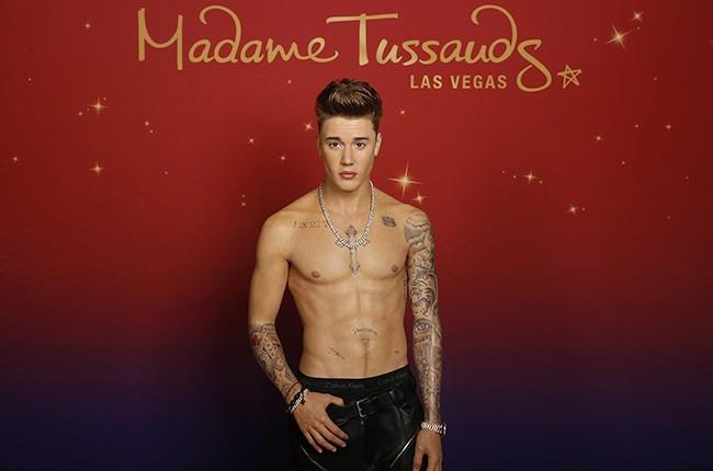 Justin Bieber wax  madame tussauds