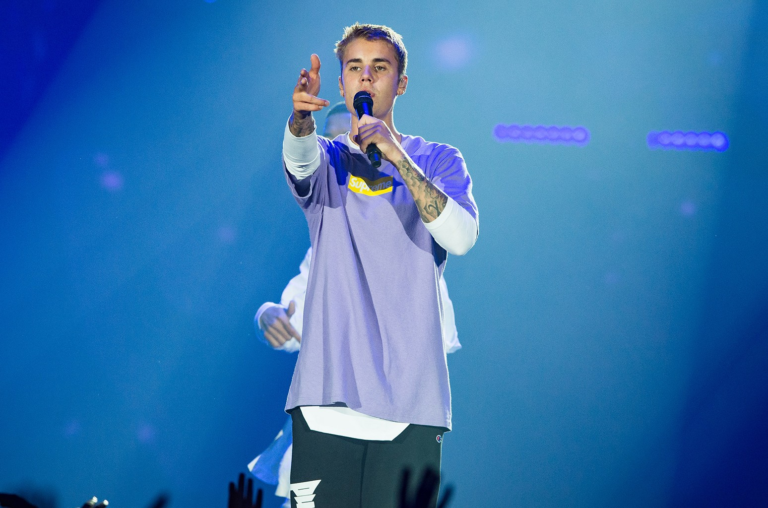 Justin Bieber performs in 2016
