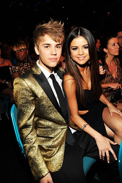 Justin Bieber and Selena Gomez, 2011.