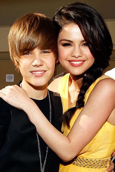 Justin Bieber and Selena Gomez, 2010.