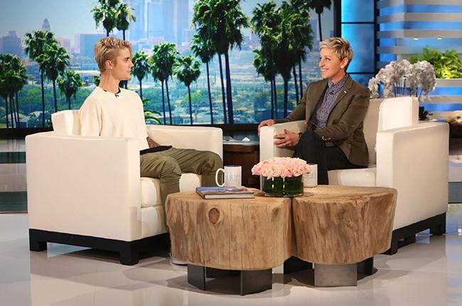 Justin Bieber Ellen DeGeneres Show