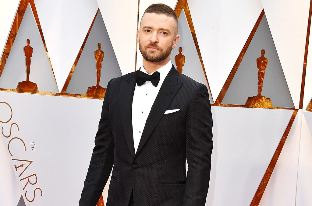 Justin Timberlake arrives at the 89th Annual Academy Awards at Hollywood & Highland Center on Feb. 26, 2017 in Hollywood, Calif.