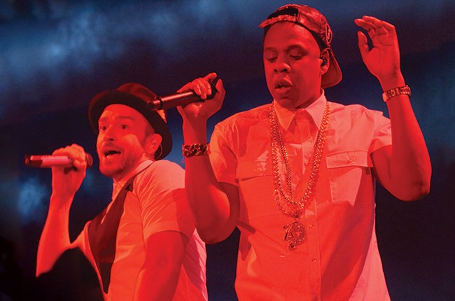 "Justin Timberlake and Jay-Z ""Legends of the Summer"" Tour 2013"