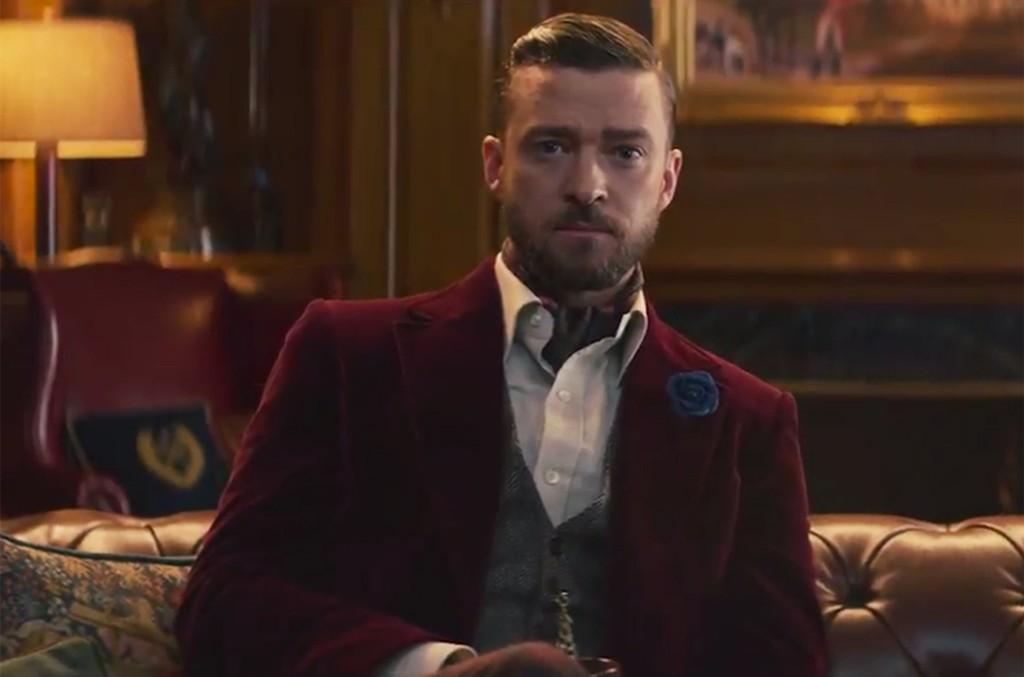 Justin Timberlake in a Super Bowl ad for Bai.