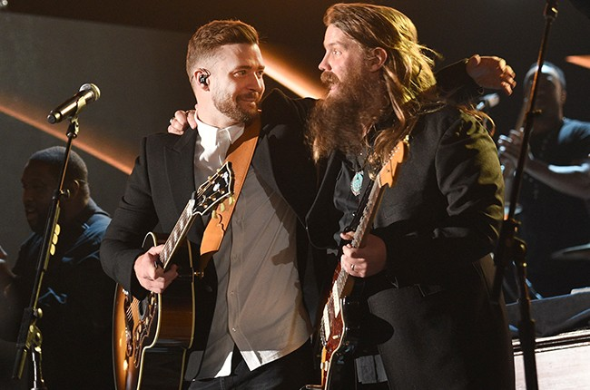 Justin Timberlake and Chris Stapleton