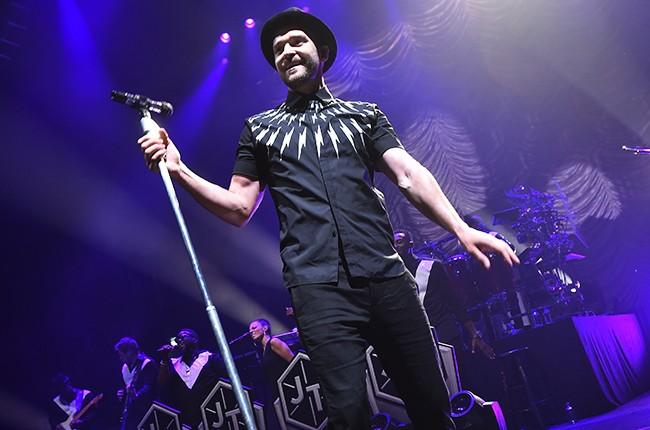 Justin Timberlake performs in New York