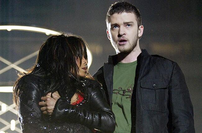 Justin Timberlake and Janet Jackson