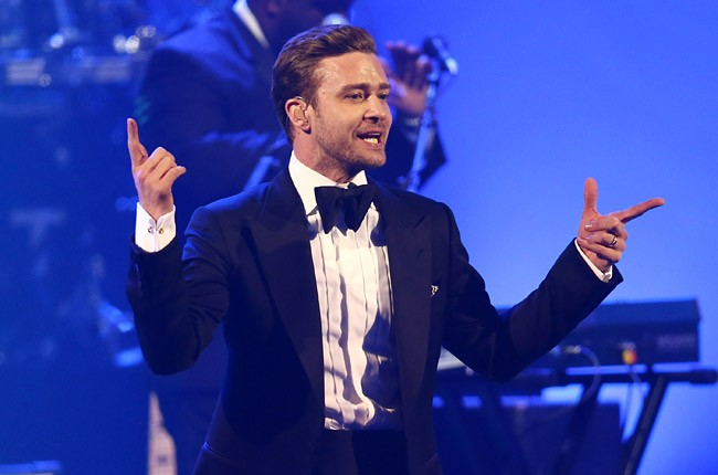 Justin Timberlake at DIRECTV Super Saturday Night in New Orleans