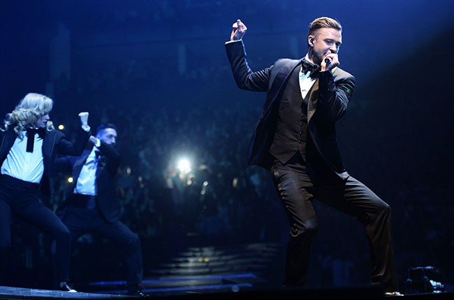 Justin Timberlake performs at The O2 Arena