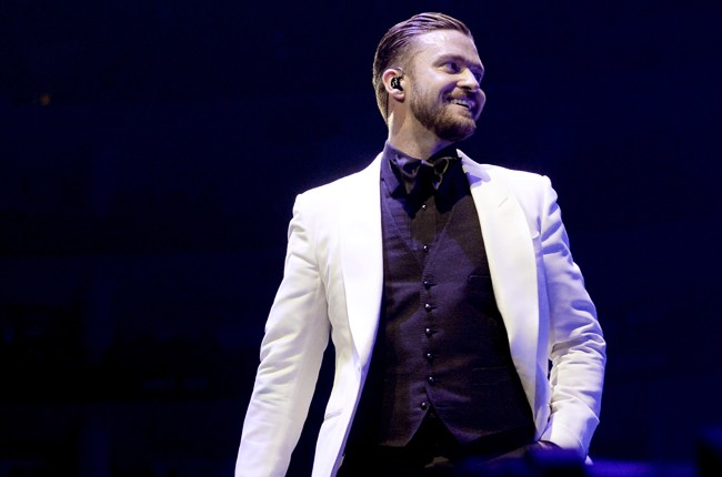 Justin Timberlake performs at The Staples Center 2013