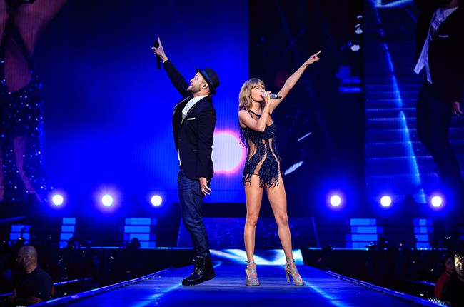 Justin Timberlake Taylor Swift 2015