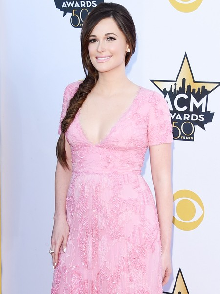 Kacey Musgraves attends the 50th Academy Of Country Music Awards