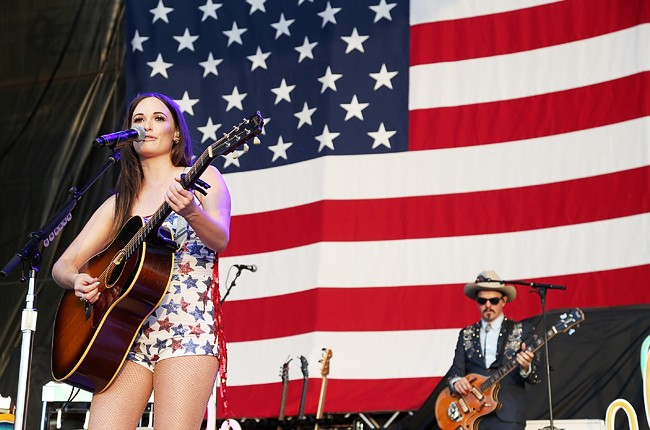 Kacey Musgraves performs in concert during Willie Nelson's 42nd Annual 4th of July Picnic at Austin360 Amphitheater on July 4, 2015 in Austin, Texas.