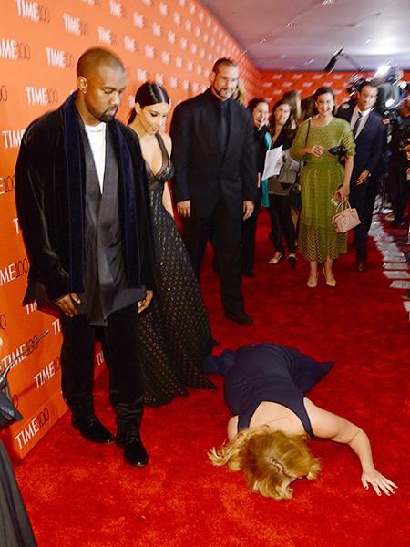 Kanye West, Kim Kardashian West and Amy Schumer