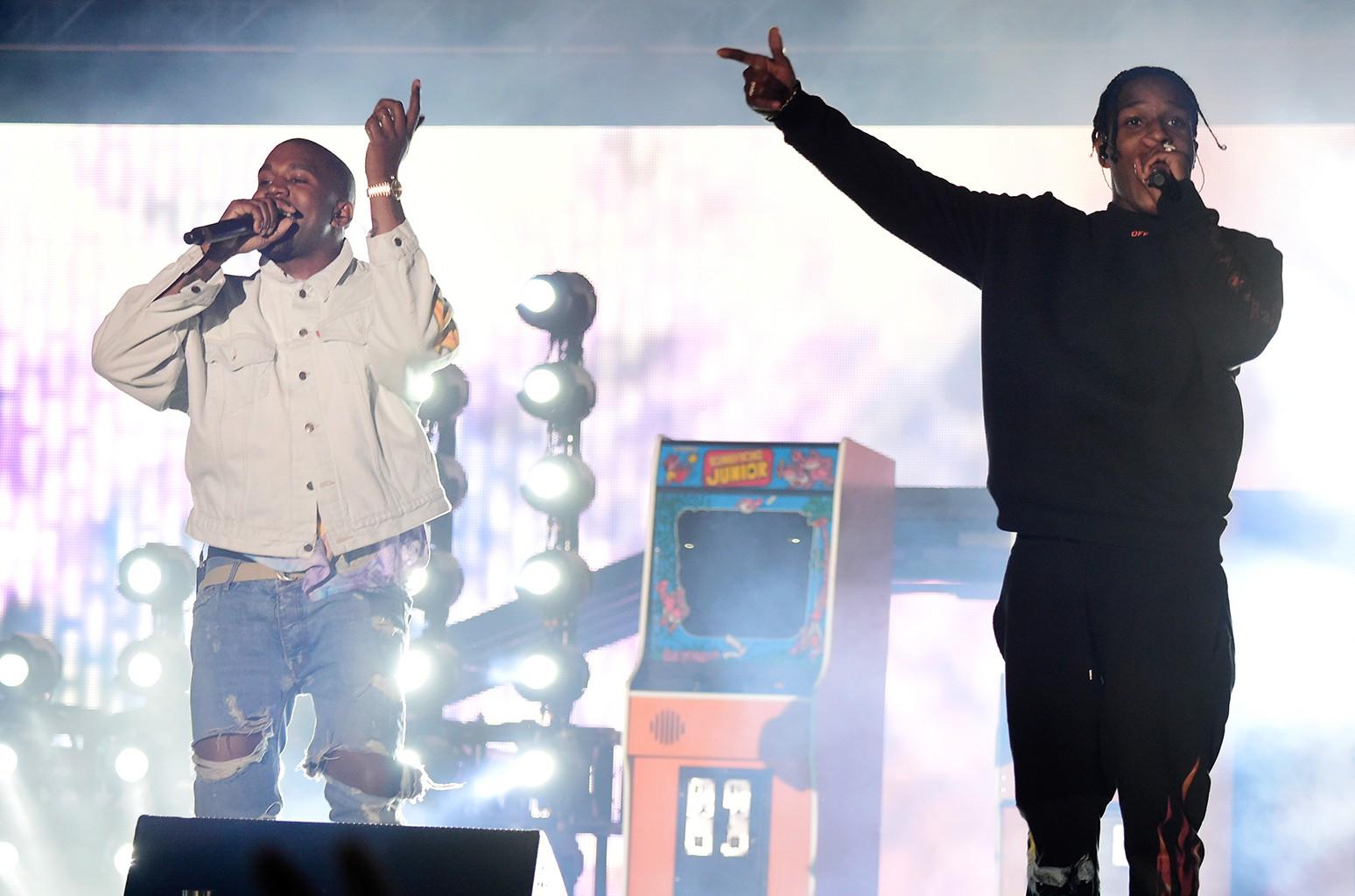 Kanye West Asap Rocky