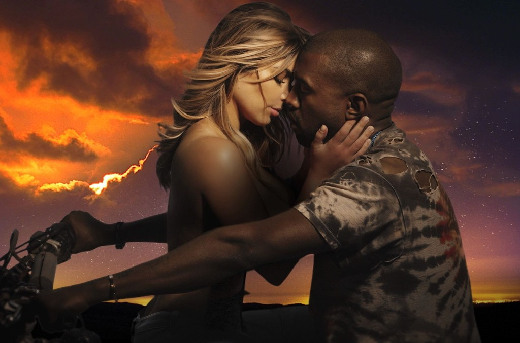 """Kanye West in the video for """"Bound 2."""""""