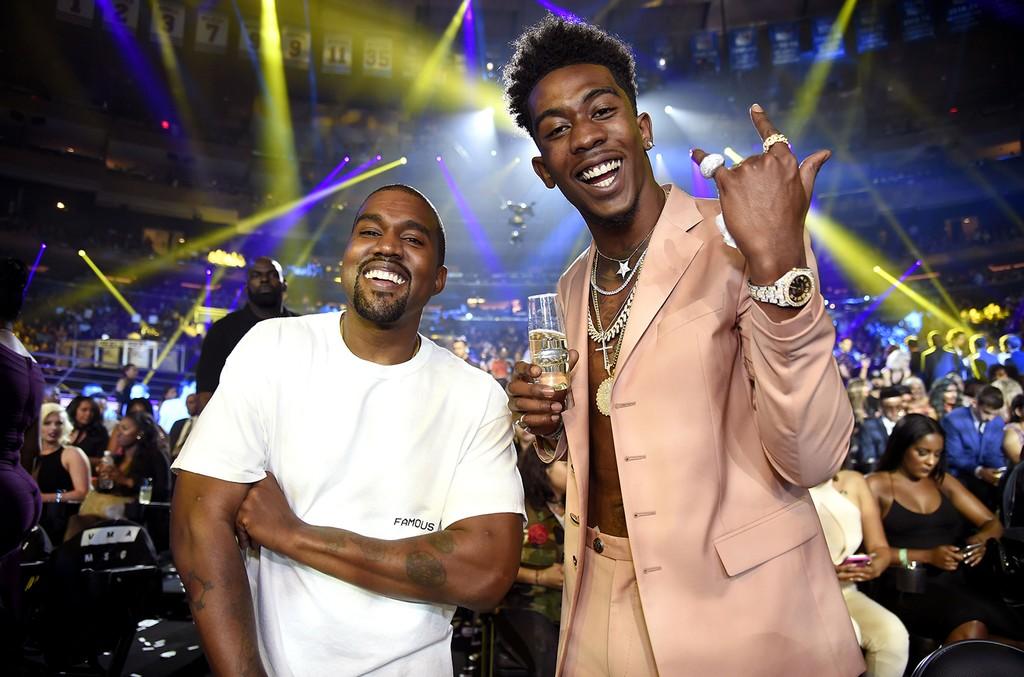 Kanye West and Desiigner