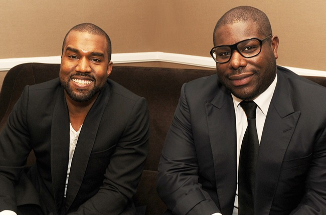 Kanye West and director Steve McQueen