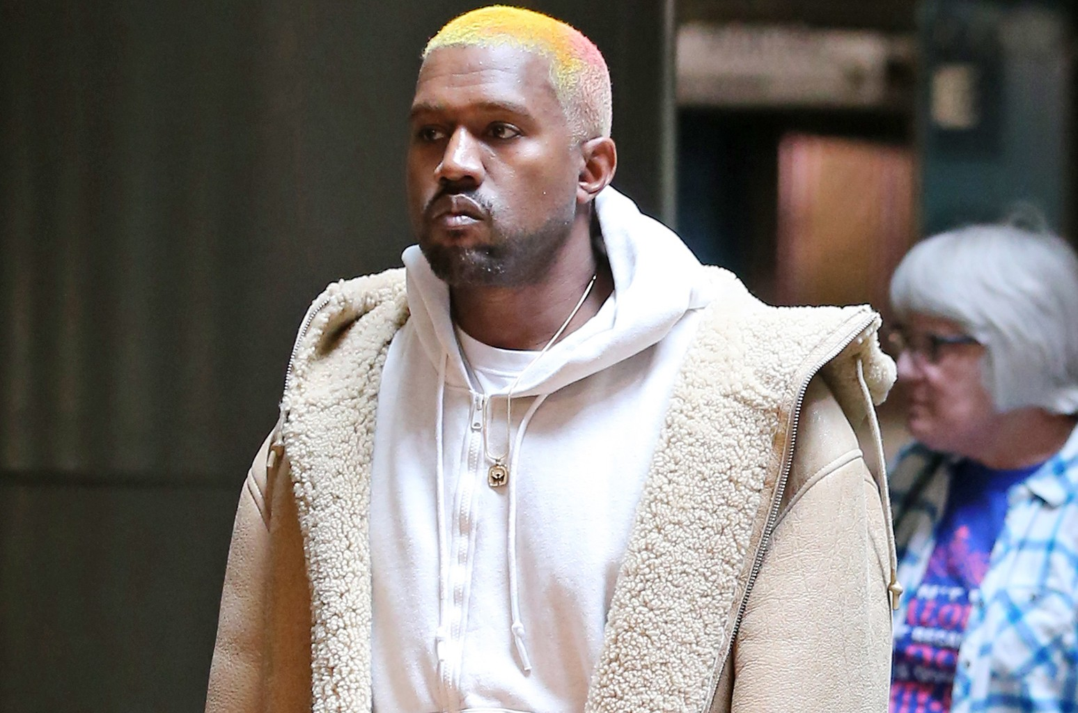 Twitter Reacts To Kanye West S New Hairstyle Billboard Billboard