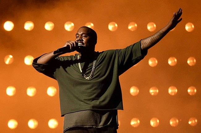 Kanye West at iHeartRadio Music Festival 2015