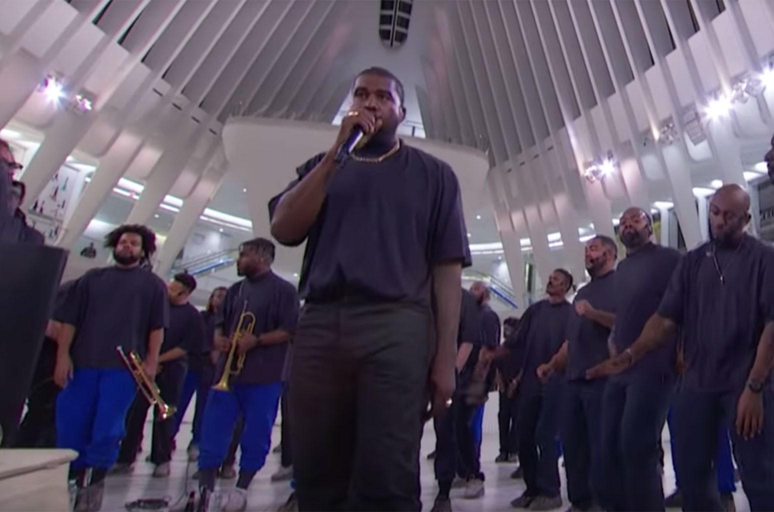 Kanye West Jimmy Kimmel Live