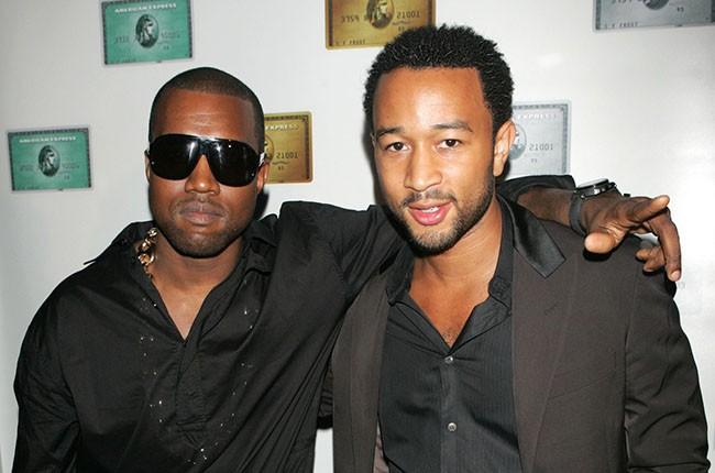 Kanye West and John Legend
