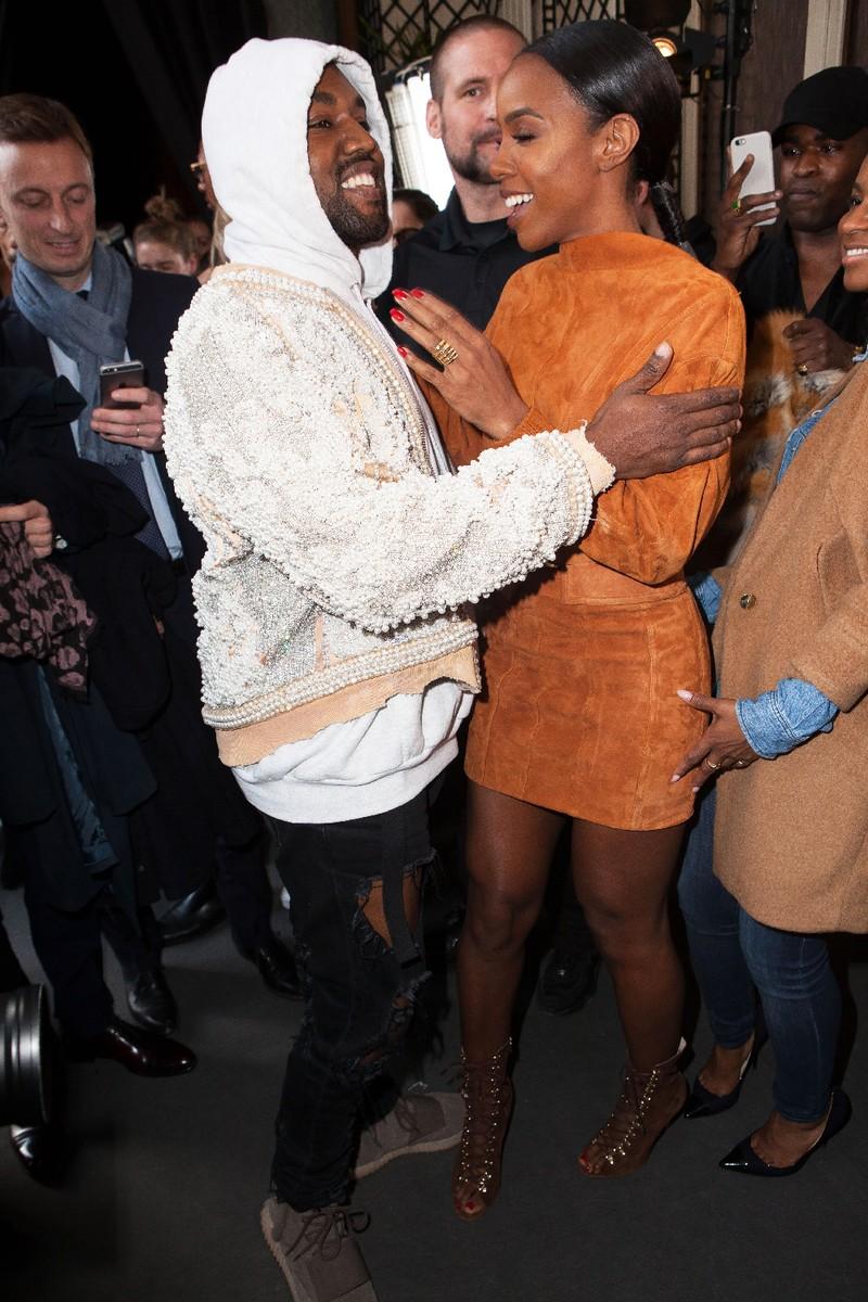 Kelly Rowland Kanye West