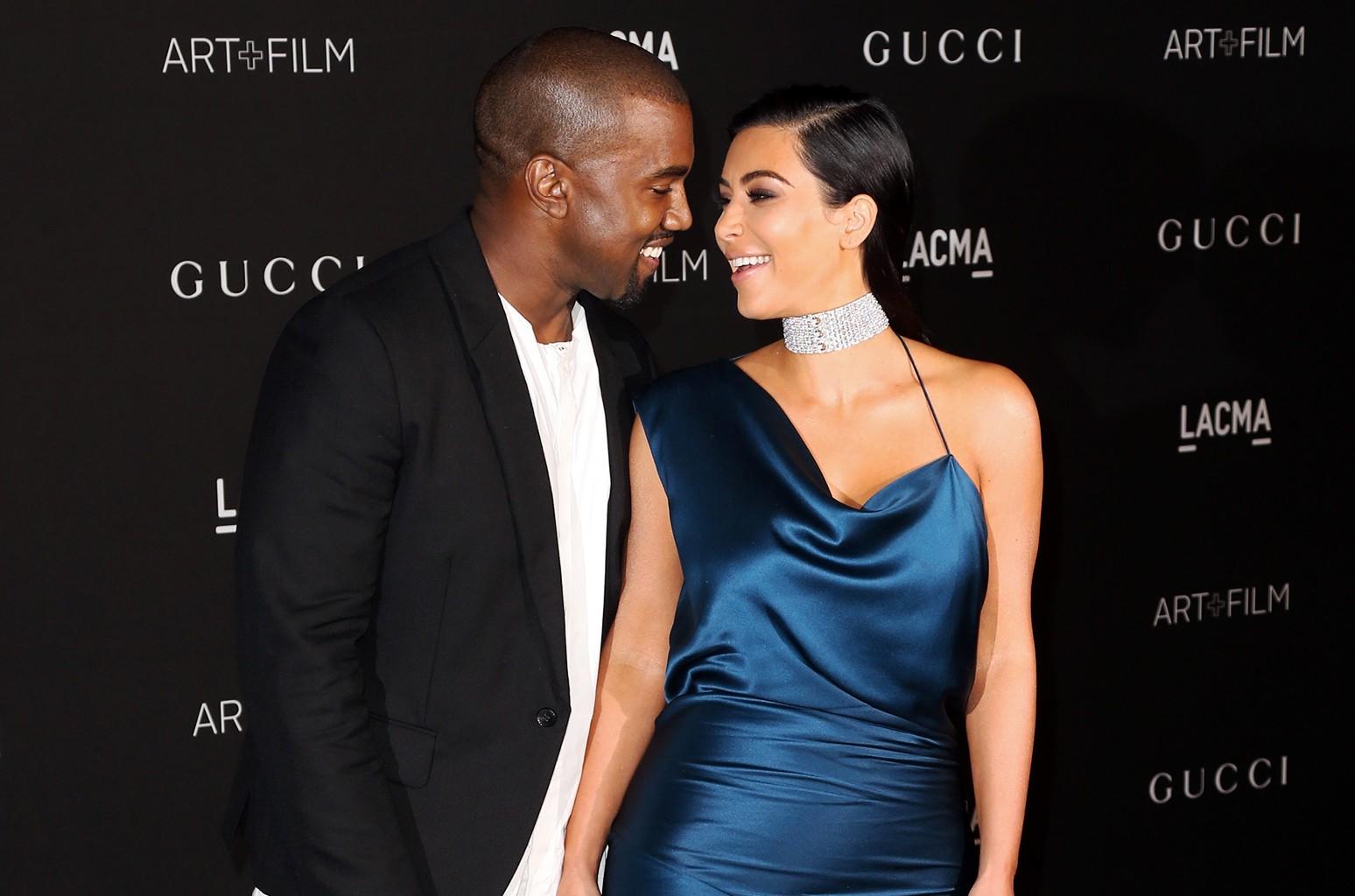 Kanye West & Kim Kardashian West