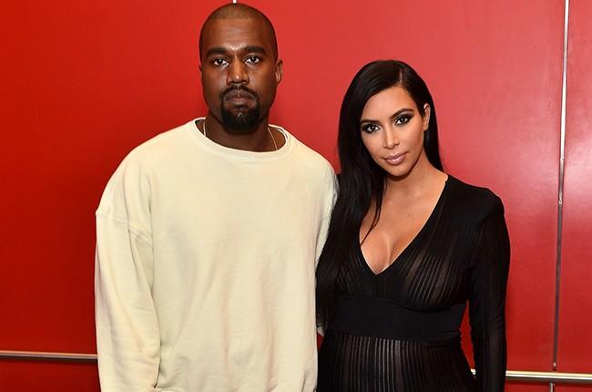 Kanye West Kim Kardashian 2015