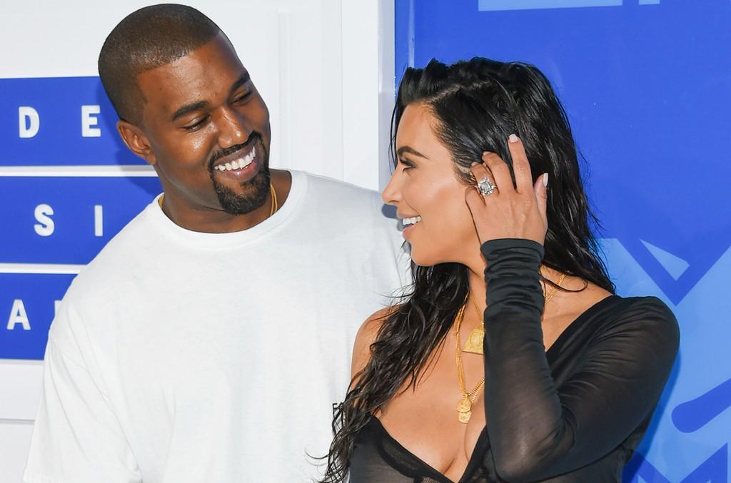 Kanye West & Kim Kardashian West, 2016