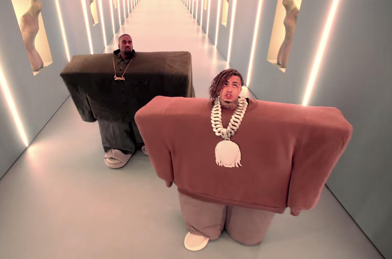 """Kanye West & Lil Pump ft. Adele Givens, """"I Love It"""""""