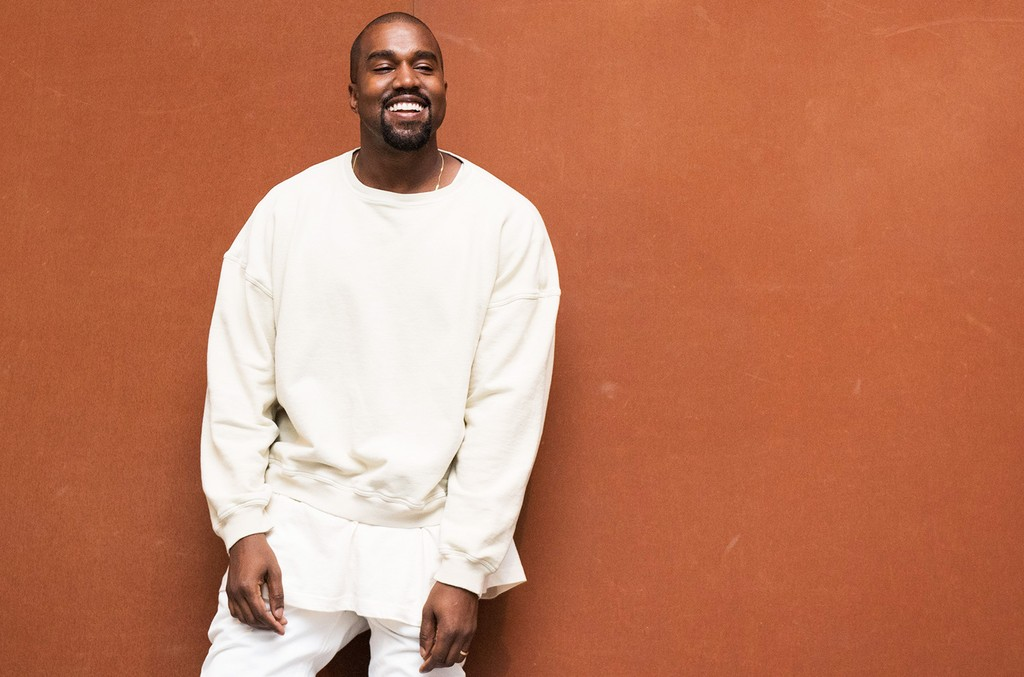 Kanye West photographed at LACMA in Los Angeles.