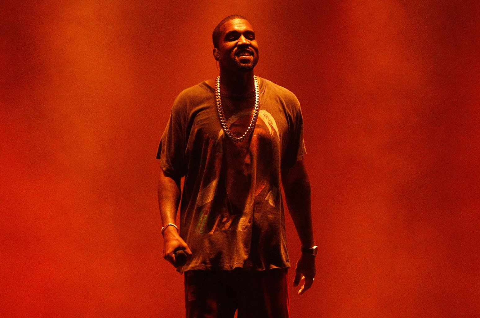 Kanye West performs during The Meadows Music & Arts Festival