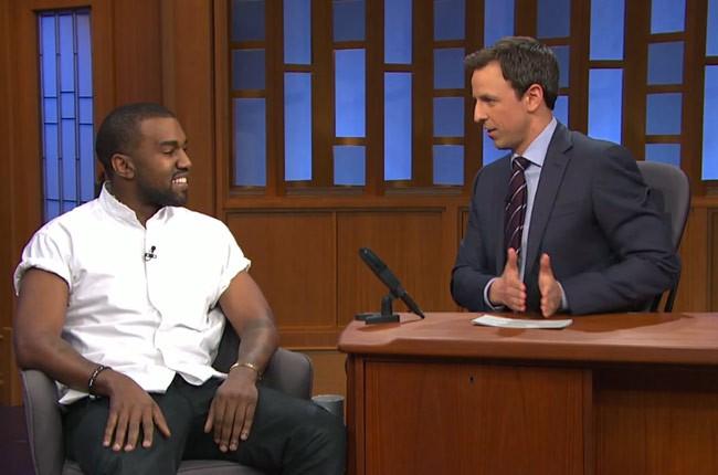 Kanye West, Seth Myers