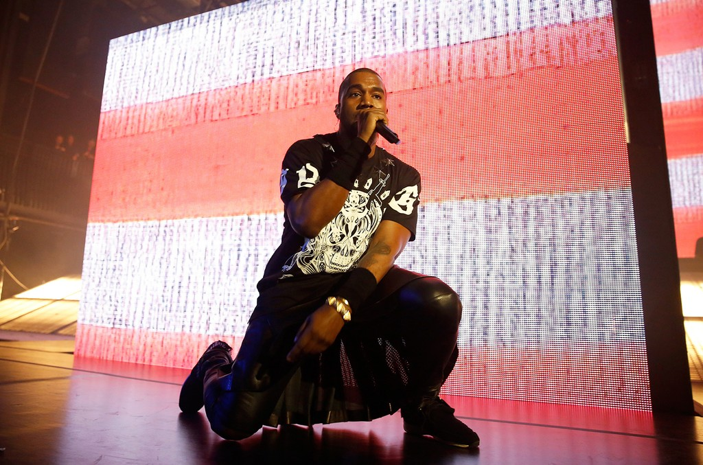 Kanye West performs at SXSW